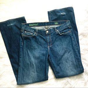 J. Crew Bootcut Jeans - medium wash
